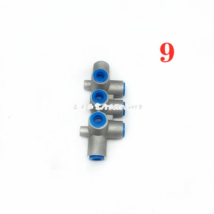 欧曼 GTL气路多通阀 七通阀 接头 ETX H0356P02001A0