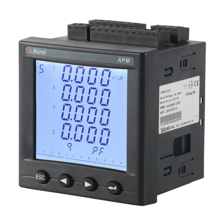 安科瑞全电量监控多功能电表APM801 计量电表 带RS485通讯