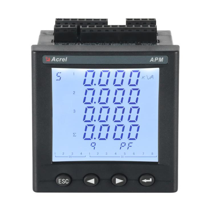 智能多回路测控仪APM810 中英文切换显示仪表