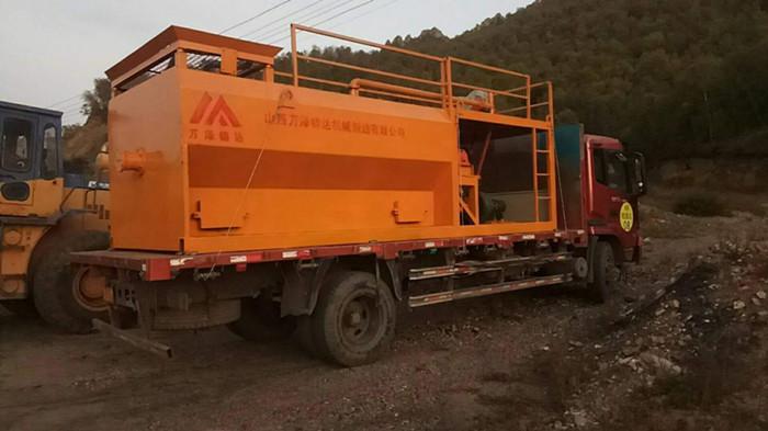 海南定安县_大型混凝土喷浆机_车载客土湿喷机厂家供应
