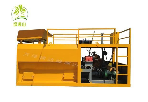 吉林松原专用草籽喷播机——生态恢复车载式
