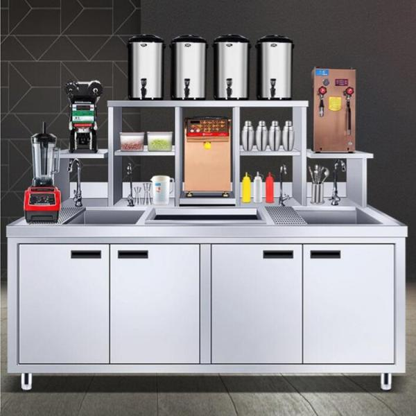 奶茶店机器设备-开奶茶店得多少钱