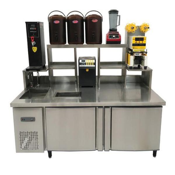 奶茶的需要和机器设备,奶茶店多少钱,河南隆恒品质典范