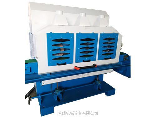 干磨水磨百潔布輪拉絲機