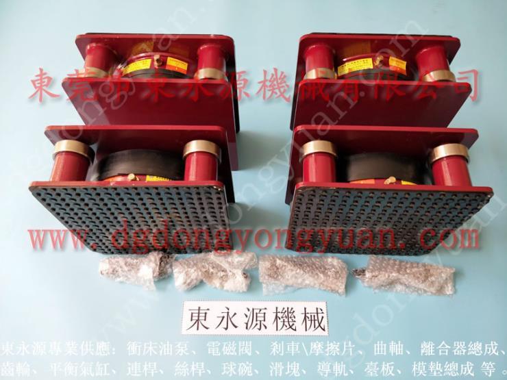 空調機組氣墊式減震器,保定樓上機器 機械隔振墊