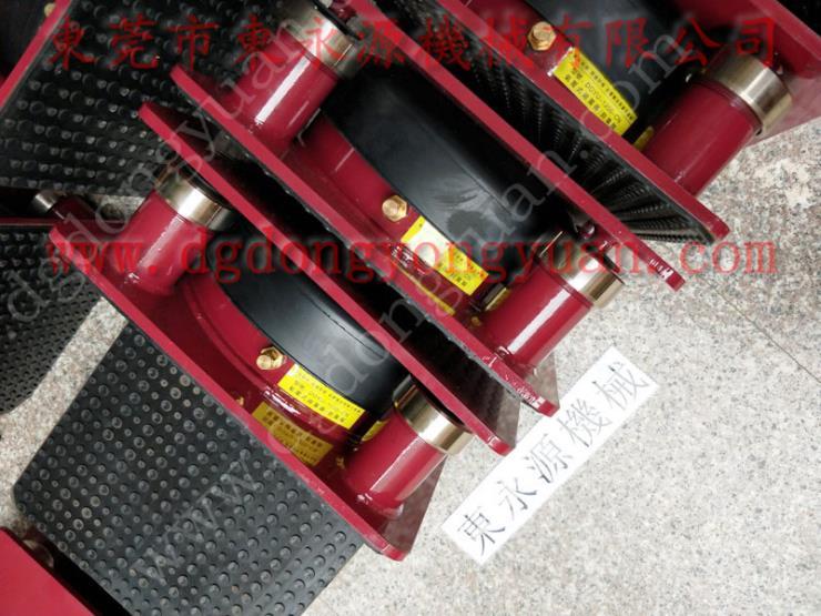 油压裁断机隔震气垫,江苏楼上机器 模切机垫铁