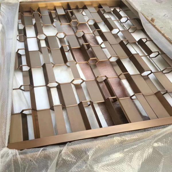 齐齐哈尔不锈钢中式屏风加工