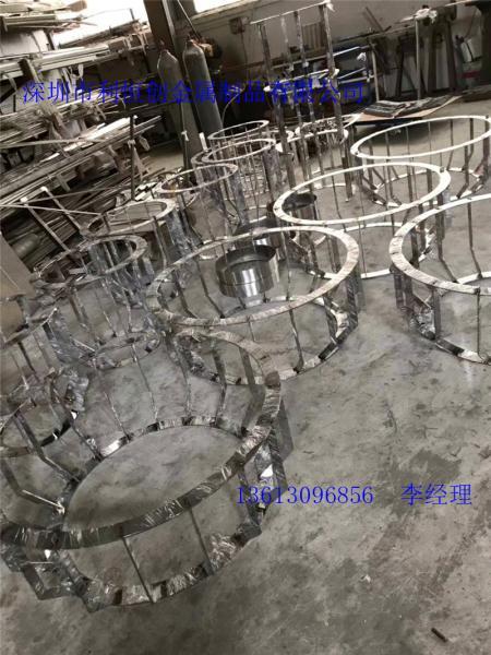 定制厂柘荣县不锈钢网屏风