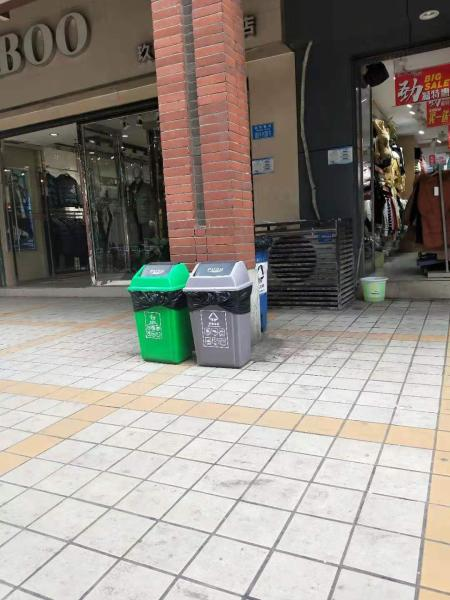 安仁县移动车载式塑料垃圾桶销售商