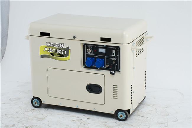 大澤動力無刷3千瓦柴油發電機參數