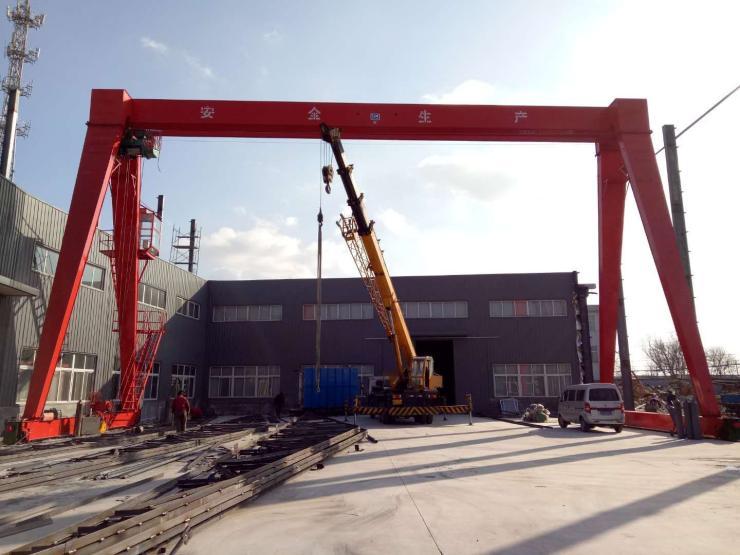 河南矿山实时新闻:起重2吨跨度27.5米起重机