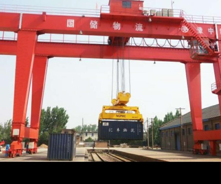 長垣礦山集團5噸簡易雙梁吊機項目合作