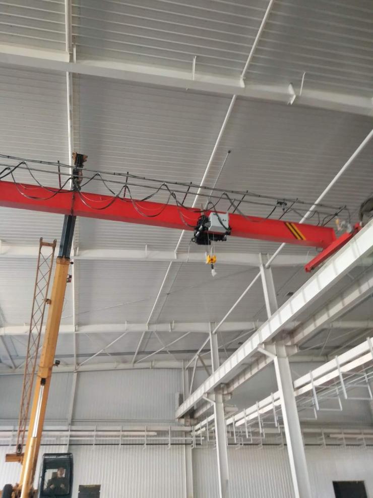 特鲁瓦箱型式80吨电动葫芦门式起重机公司