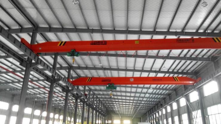 10噸跨度22.5米龍門起重機√河南省礦山廠家考察聯