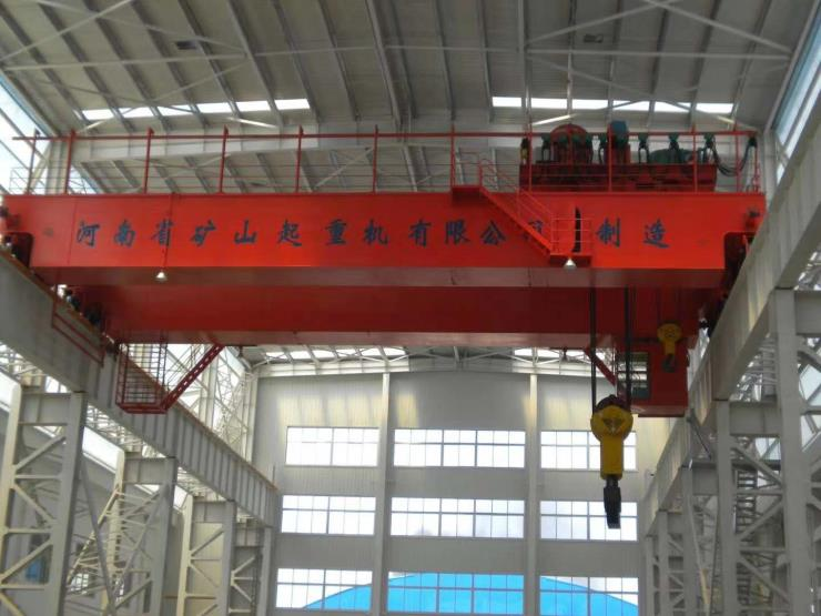 礦山集團2噸歐式起重機質量過硬