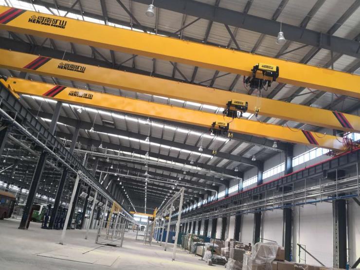 16噸跨度22.5米雙梁門式起重機√河南省礦山質量過