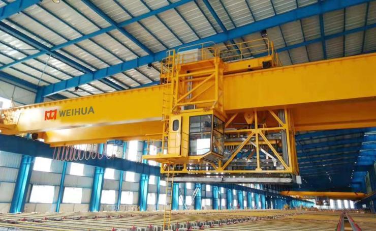 富锦自动化起重机:【河南卫华】25吨自动化起重机