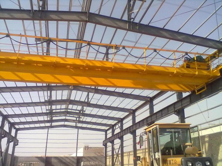 【河南那个矿山起重机是大公司】新闻√LDA型8吨14米电动单梁起重机