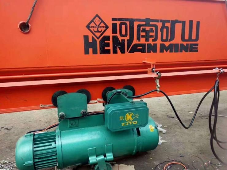 河南省矿山新闻:QBX型16吨13.5米矿用防爆桥式起重机多少钱