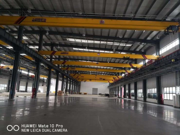 2.8吨2.9吨跨度19.5米电动单梁悬挂起重机√塔