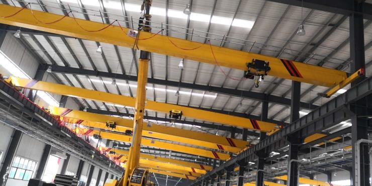 2.8吨2.9吨跨度22.5米电动葫芦双梁起重机√台