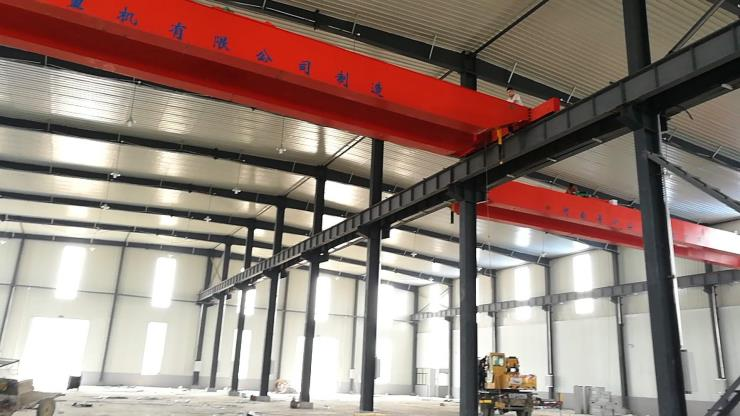 2.8吨跨度19.5米吊钩桥式起重机√榆阳区公司