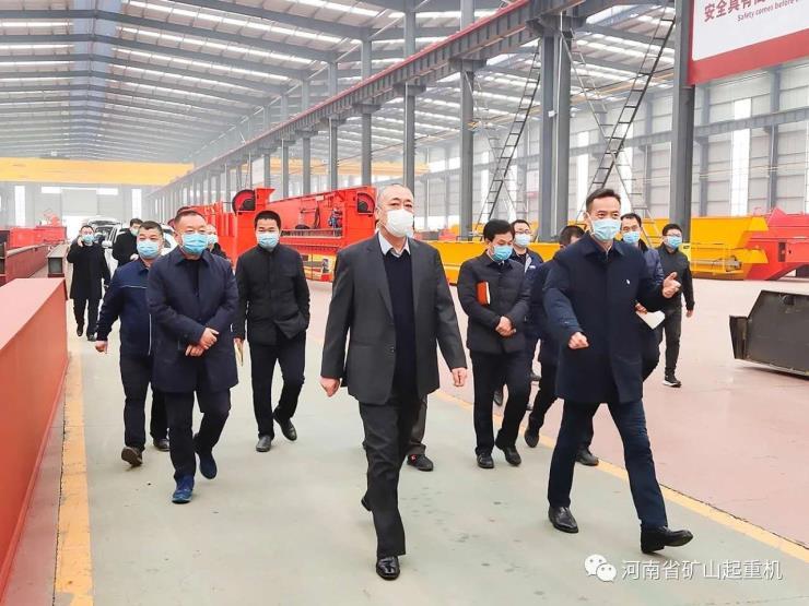 河南省矿山新闻:25吨欧式单梁起重机公司