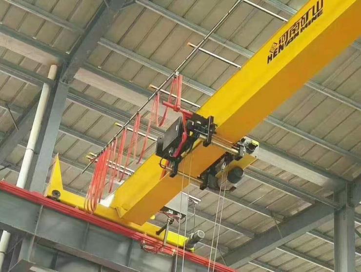 2.8吨2.9吨跨度19.5米电动单梁悬挂起重机√淇