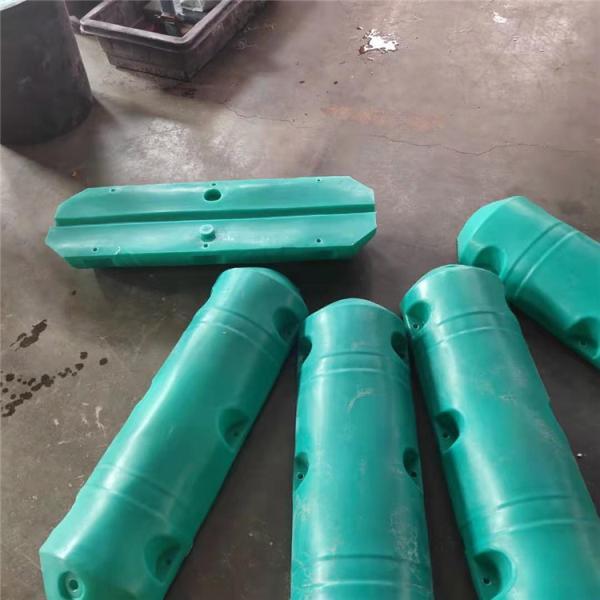 滚塑加工橡胶管浮体 疏浚管道浮体 抽沙船配套浮体