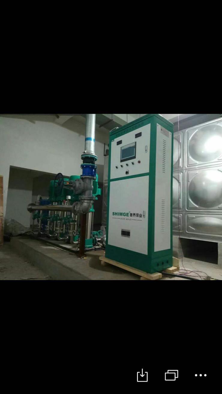 山西临汾霍州工矿企业二次供水