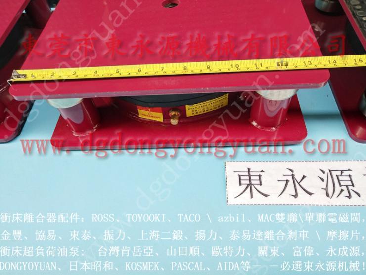 防震好的 直销胶带分切机减震垫