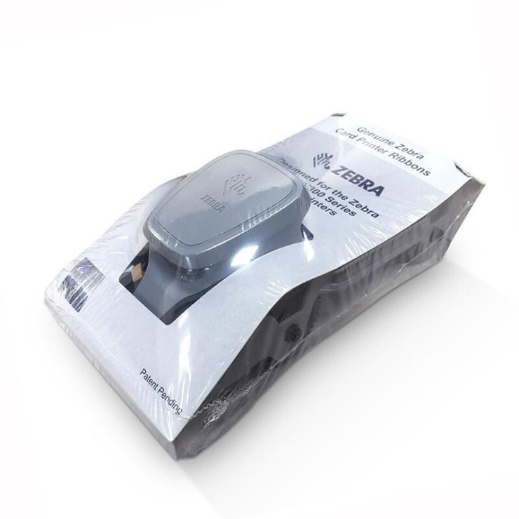 斑马原装ZC100证卡打印机彩色碳带员工卡