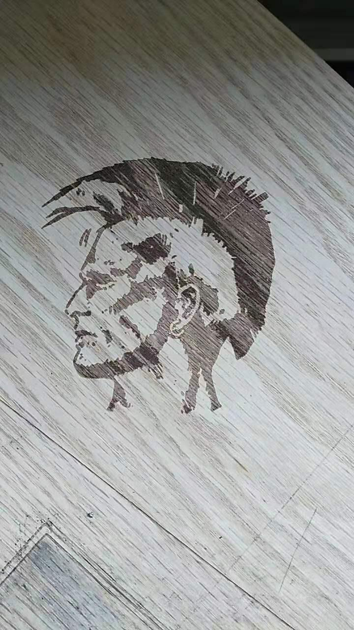 上海木头激光打标,木板木盒激光刻字加工