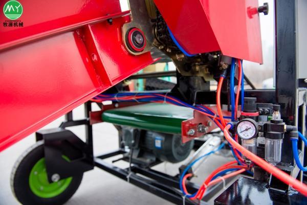 裕安区青贮打捆包膜机使用操作