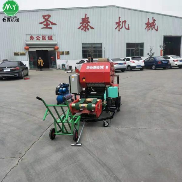 寿县全自动打捆包膜机生产厂家