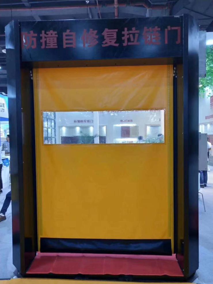 深圳厂家供应自动卷帘风淋室快速门,供应商价格