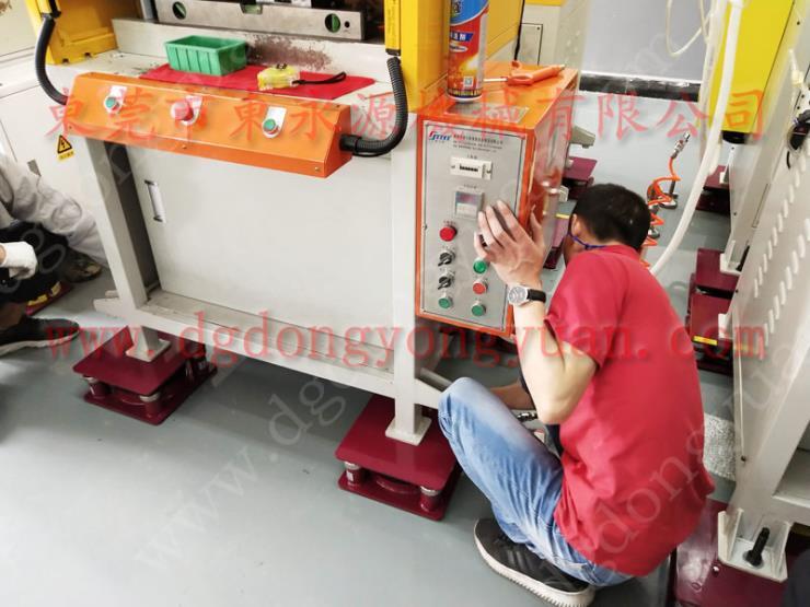 绣花机空气减振器,珠海楼上机器 手摇啤机隔震脚垫