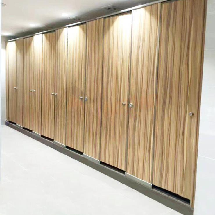 厂家定制金属卫生间隔断 酒店厕所铝蜂窝隔断挡板
