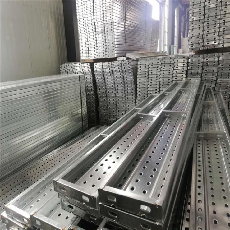 镀锌钢跳板价格 3米脚手板厂 火电厂钢跳板