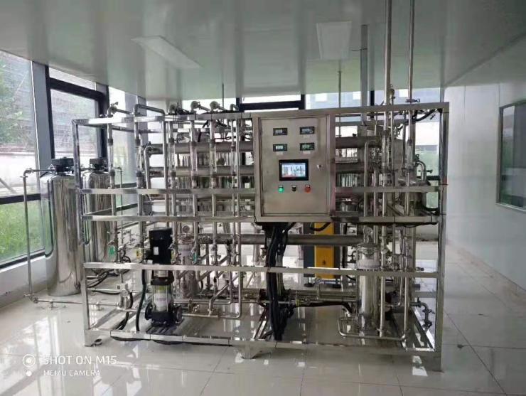 义乌玻璃清洗用纯净水设备,自来水净化设备