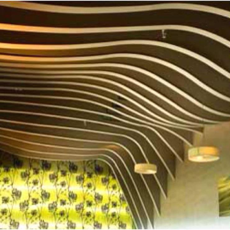 琦铝-铝方通木纹方通天花幕墙弧型方通木纹四方管