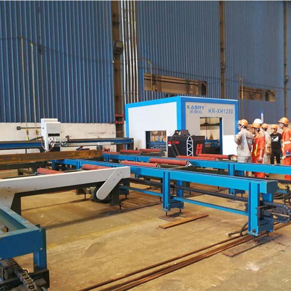 型材切割设备 h型钢切割生产线 自动上下料