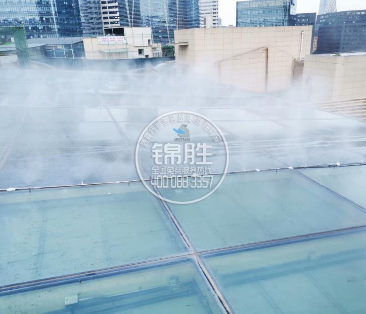 湖南环境监测站降尘、人造雾降尘
