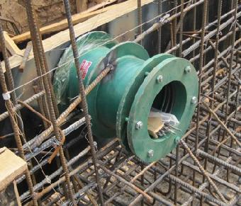 02S404碳钢管件/柔性防水套管