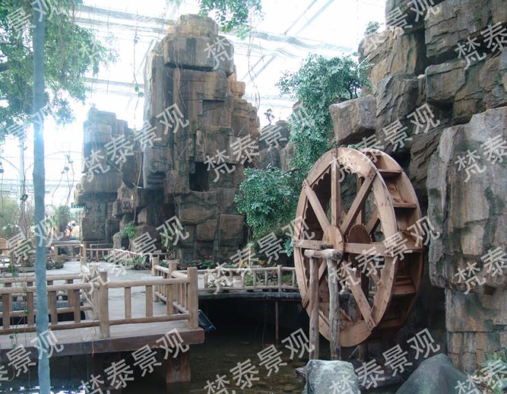 青島塑石假山施工價格