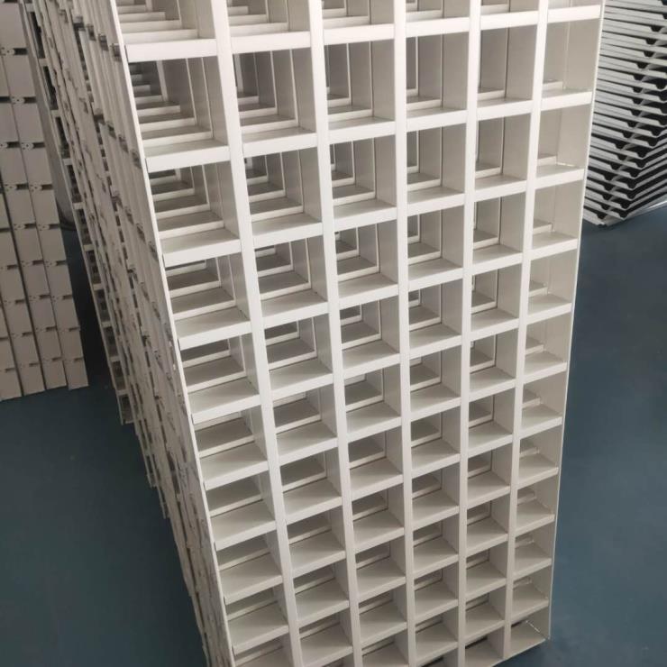 香港铝格栅吊顶 600x1200铝格栅 粤艺佰