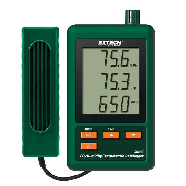 EXTECH温湿度记录仪 SD800