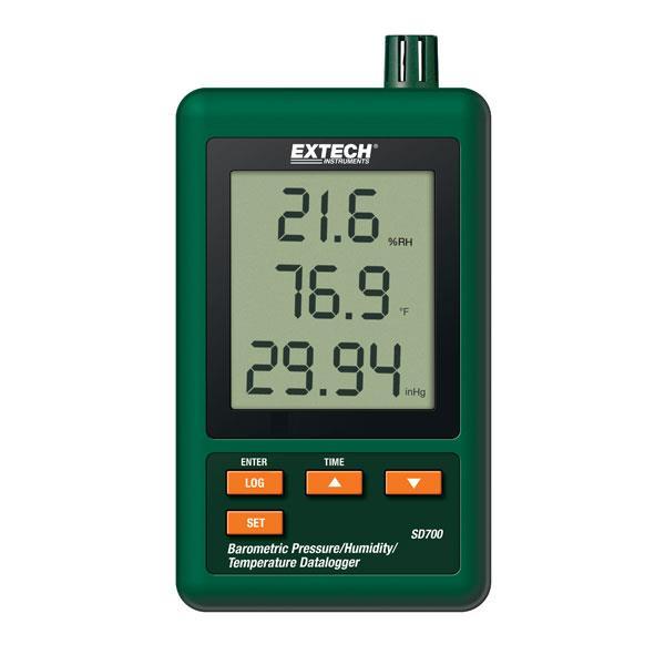 EXTECH温湿度大气压记录仪 SD700
