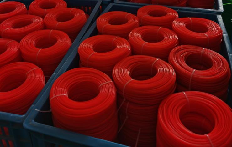 供应450克泡壳包装 割草线 打草绳