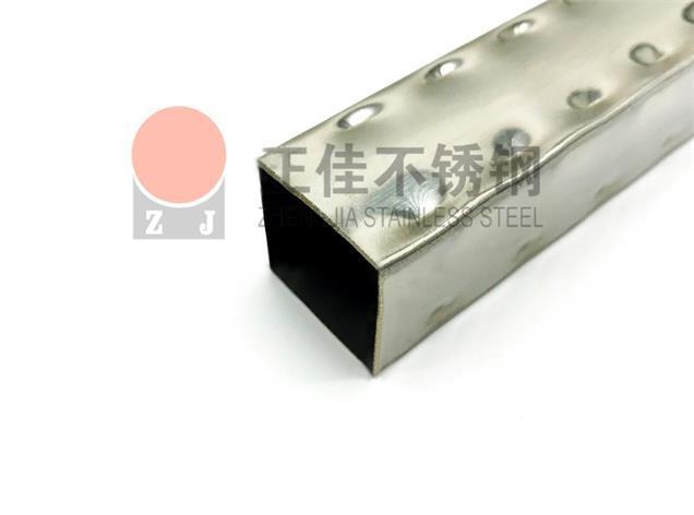 正佳出售25x25點狀定制不銹鋼花紋管
